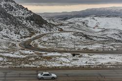 سفیدپوشی بهار در اردبیل/گردشگران نوروزی غافلگیر شدند