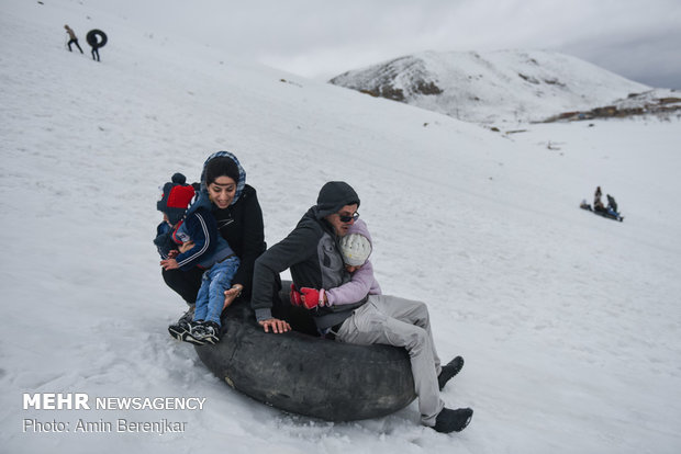 ​Pooladkaf ski resort in Fars province