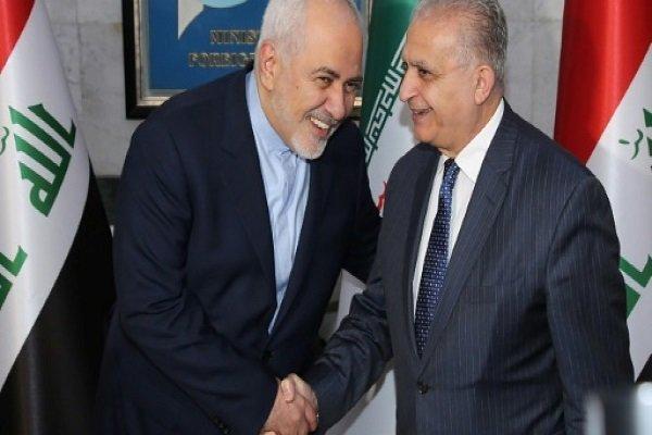 ظريف: نرحب بمساعي العراق لتطبيع العلاقات بين سوريا والجامعة العربية