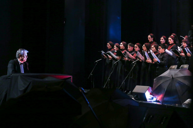 Namira Choir stages concert at Vahdat HAll