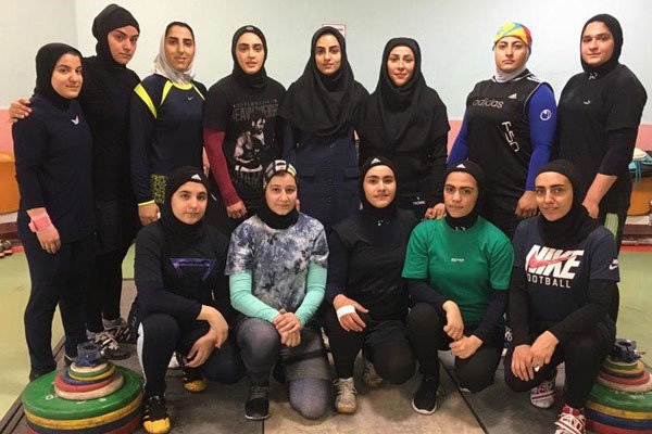 Iran's women weightlifters to participate at Asian championships