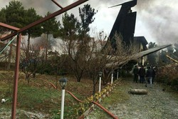Boeing 707 cargo plane crashes near Tehran