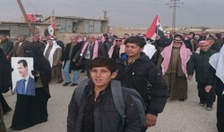 A new batch of displaced people return to their homes in Deir Ezzor