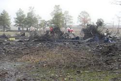 اعزام ۴ تیم عملیات پیشرو هلالاحمر به محل سقوط هواپیما در کرج
