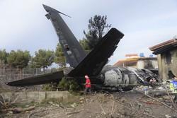 تہران میں طیارہ حادثے میں مرنے والوں کی تعداد 15 ہوگئی