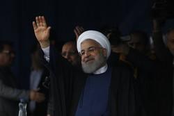 صدر روحانی کا صوبہ گلستان کا دورہ