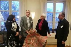 دیدار سفیر و رایزن فرهنگی ایران با عالی ترین مقام مذهبی سوئد
