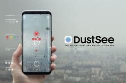 اپلیکیشن نمایش آلودگی هوا در کره جنوبی