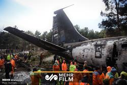 اولین گزارش میدانی از محل سقوط هواپیما ۷۰۷