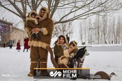 تفریحات جذاب زمستانه در برفهای شیراز