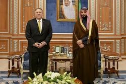 امریکی وزیر خارجہ کی سعودی بادشاہ اور ولیعہد سے ملاقات