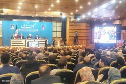 ۳۸ تفاهم نامه با حضور رئیس جمهور برای توسعه گلستان امضا شد