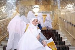 جشن تکلیف دختران در حرم مطهر امام رضا(ع)