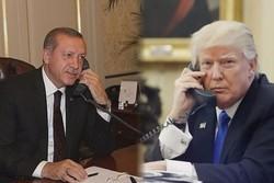 اردوغان اور ٹرمپ کی ٹیلیفون پر گفتگو
