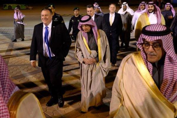 امریکی وزیر خارجہ سعودی عرب پہنچ گئے