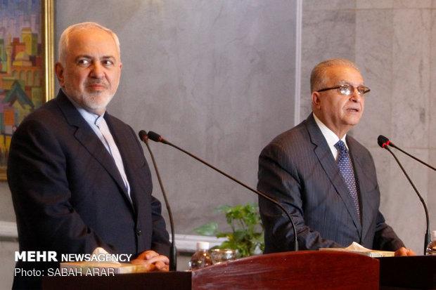 Zarif'in Irak ziyaretinden fotoğraflar