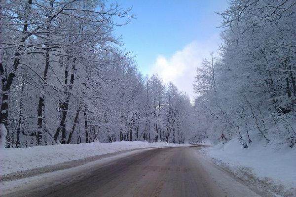 آغاز بارش برف و باران در ایلام