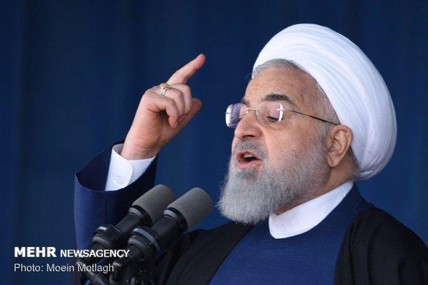 """مشاهد من لقاء روحاني بأهالي محافظة """"كلستان"""""""