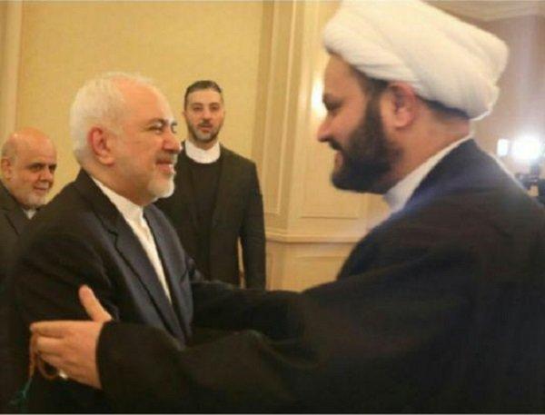 ظريف يلتقي بوفود سياسية ودينية واجتماعية عراقية