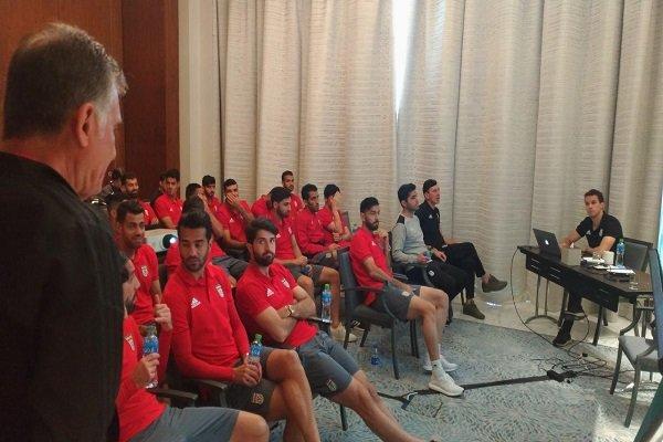 بررسی برنامه تیم ملی فوتبال ایران برای بازی با عراق