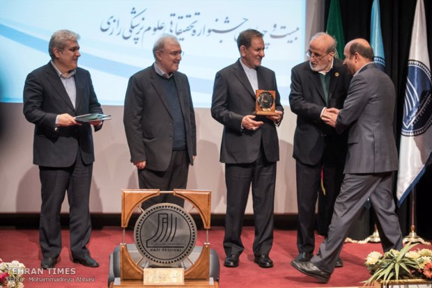 Top researchers, centers honored at  Razi festival