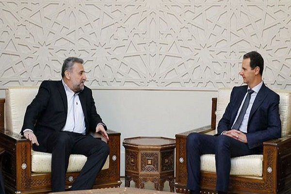 Tehran-Damascus relations built away from any external interference: Syrian president