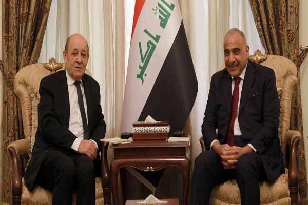 فرانسه یک میلیارد یورو به عراق کمک میکند