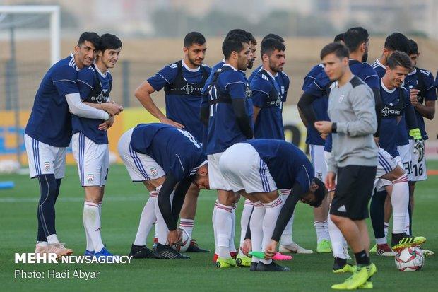 Team Melli's training session