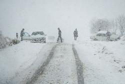 ورود سامانه بارشی به البرز/پیشبینی وقوع برف و کولاک