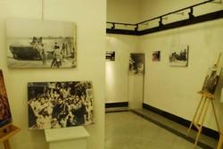 نمایشگاه عکس هنرمندان دوران دفاع مقدس برپا شد