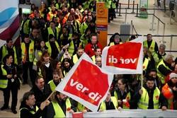 لغو صدها پرواز در آلمان بدنبال ادامه اعتصابها