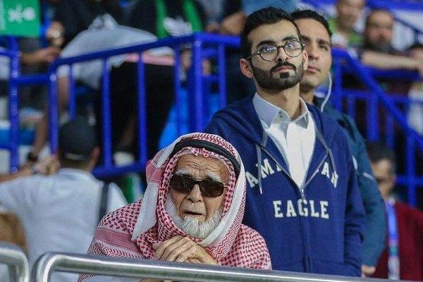 رونمایی از مُسنترین تماشاگر جام ملتهای آسیا