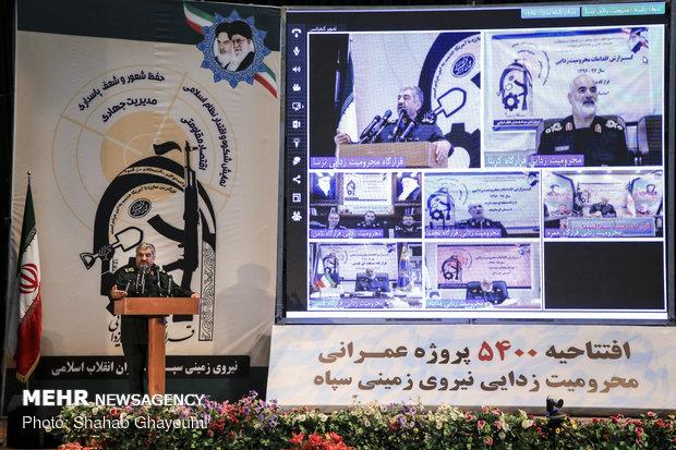 مراسم افتتاحية  5400 مشروع في المناطق المحرومة بأنحاء البلاد