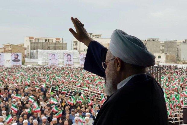 پیام اخلاقی رئیس جمهور به فعالان اقتصادی/تحریم راپشت سر می گذاریم