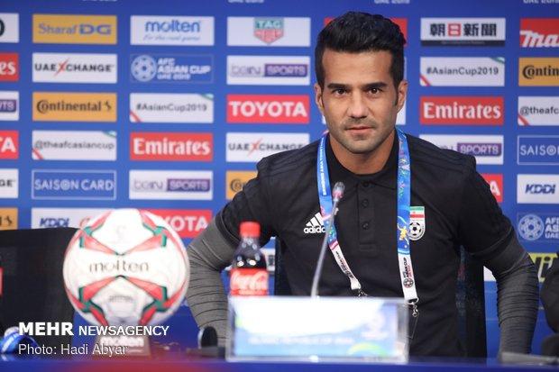 نشست خبری سرمربی و کاپیتان تیم ملی فوتبال ایران