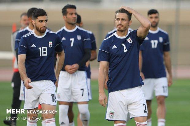 آخرین تمرین تیم ملی فوتبال پیش از دیدار با عراق