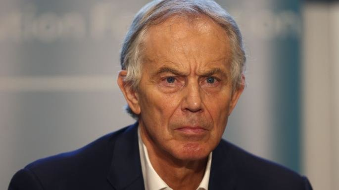 Why is Tony Blair so angry?