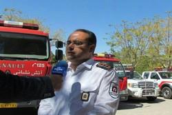 کرمانیها مقام سوم المپیاد آتش نشانان کشور را کسب کردند