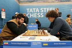 عنوان هفتمی پرهام مقصودلو در مسابقات شطرنج ایروفلوت