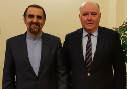Iran amb. to Moscow holds talks with Russian deputy FM on bilateral ties