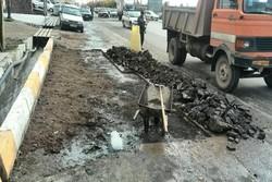 حفاری های شرکت گاز هرمزگان علت قطع آب غرب بندرعباس است