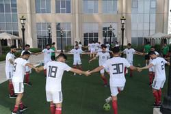 تمرین سبک تیم ملی فوتبال در روز بازی با عراق