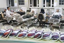اهدای مستمر خون در استان قزوین دو برابر شد