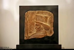 Achaemenid relief goes on show in Mashhad