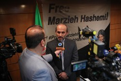 Press TV head talks to media on Marzieh Hashemi's detention