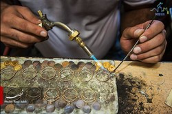 Over 700 crafters in Yazd engage in traditional ornamentation