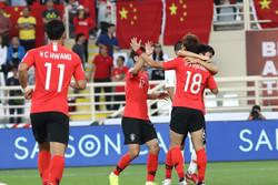 کره جنوبی با شکست چین به عنوان صدرنشین صعود کرد