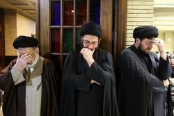 مسجد نور میں آیت اللہ ہاشمی شاہرودی کی یاد میں تقریب