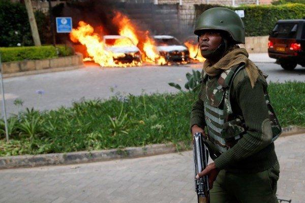 ۱۵ کشته در حادثه هتل «دوسیت» کنیا/ اتباع خارجی در میان قربانیان