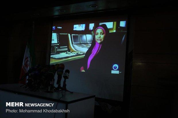 نشست رسانهای پیمان جبلی معاون برون مرزی سازمان صدا و سیما درباره دستگیری مرضیه هاشمی